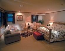 уютный необычный стиль квартиры фото