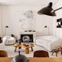 уютный светлый стиль квартиры картинка