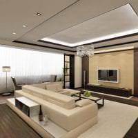 уютный светлый декор квартиры картинка