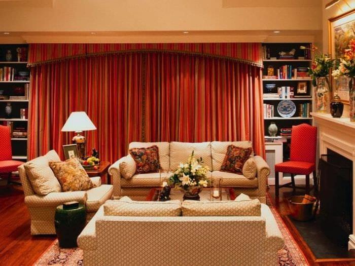 уютный красивый стиль квартиры