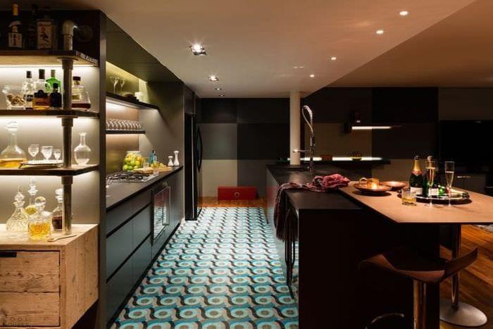 уютный красивый интерьер квартиры