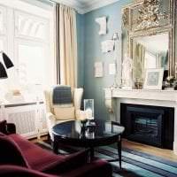 красивый бордовый цвет в декоре дома фото
