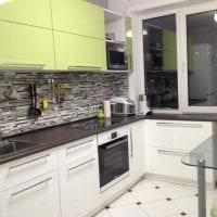 темный интерьер элитной кухни в стиле арт деко фото