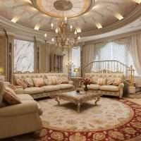 необычный декор спальни в стиле барокко картинка