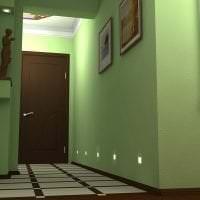 необычный фисташковый цвет в интерьере квартиры фото