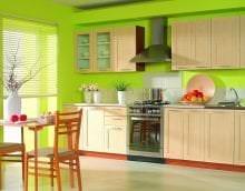 красивый фисташковый цвет в декоре квартиры картинка