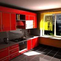 светлый декор элитной кухни в стиле арт деко картинка