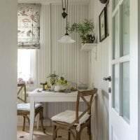 яркий интерьер кухни в шведском стиле картинка