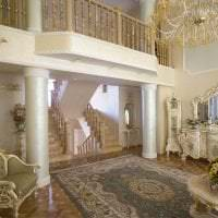 необычный интерьер спальни в стиле барокко фото