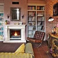 необычный интерьер квартиры в стиле фьюжн картинка