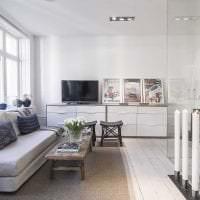 необычный интерьер прихожей в шведском стиле фото