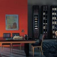 красивый декор гостиной в стиле авангард фото