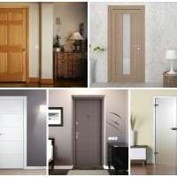 деревянные двери в декоре кухни картинка