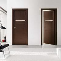 межкомнатные двери в дизайне комнаты картинка