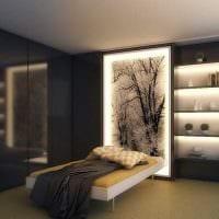 идея цветной подсветки декора картинка