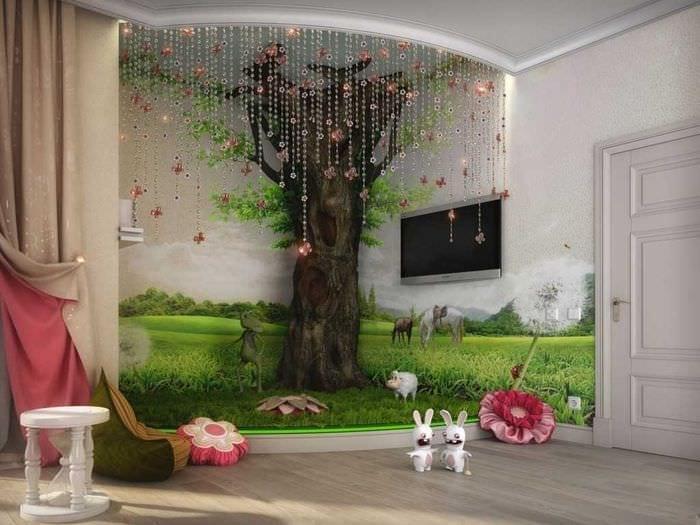 Как украсить детскую комнату для мальчика своими руками фото