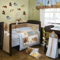 идея шикарного декорирования детской комнаты картинка