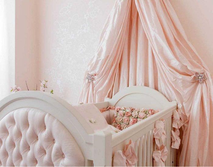 Своими руками балдахин для детской кровати