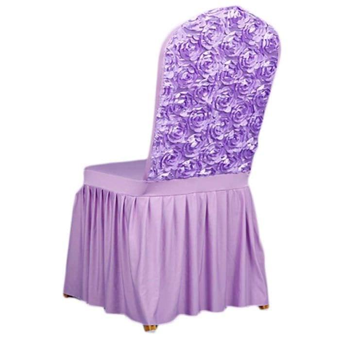 вариант оригинального украшения стульев