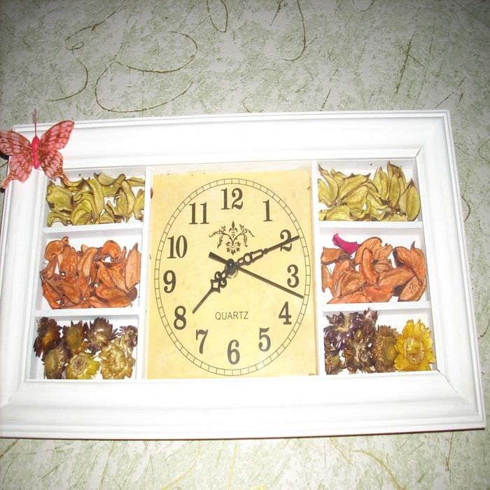 Часы для кухни сделать своими руками фото