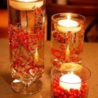 идея яркого украшения свечей своими руками фото