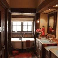 классический дизайн гостиной в стиле рустик картинка