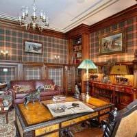 красивый дизайн спальни в стиле рустик фото