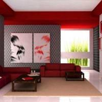 комбинирование светлых обоев в интерьере гостиной комнаты фото
