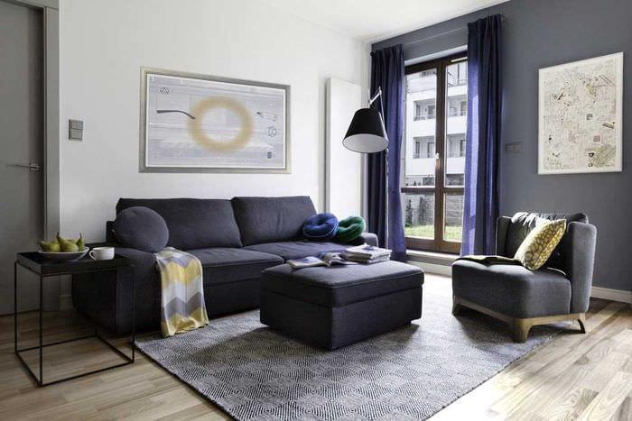 комбинирование светлых цветов в дизайне комнате