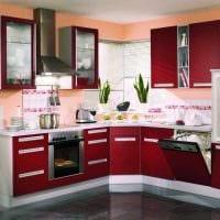 сочетание темных тонов в дизайне кухни картинка