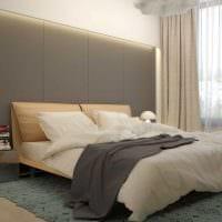 сочетание темных цветов в дизайне спальни картинка