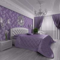 комбинирование ярких штор в стиле гостиной фото