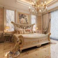 комбинирование ярких оттенков в стиле спальни картинка