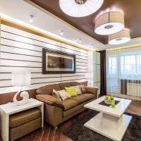 сочетание темных цветов в дизайне гостиной картинка