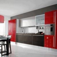 сочетание светлых оттенков в стиле кухни картинка