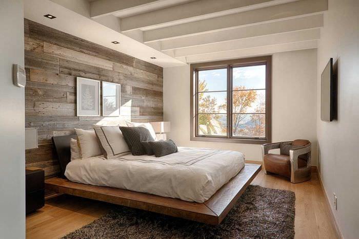 комбинирование светлых цветов в декоре спальни