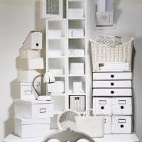 необычное украшение коробок для хранения подручными материалами фото