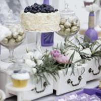 красивое украшение свадебного зала цветами фото