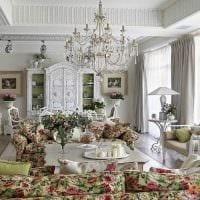 оригинальное декорирование дизайна квартиры в стиле прованс картинка