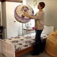 необычное оформление интерьера комнаты в стиле прованс картинка