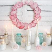 красивое декорирование комнаты подручными материалами на день святого валентина картинка