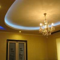 классическое декорирование потолка аксессуарами фото