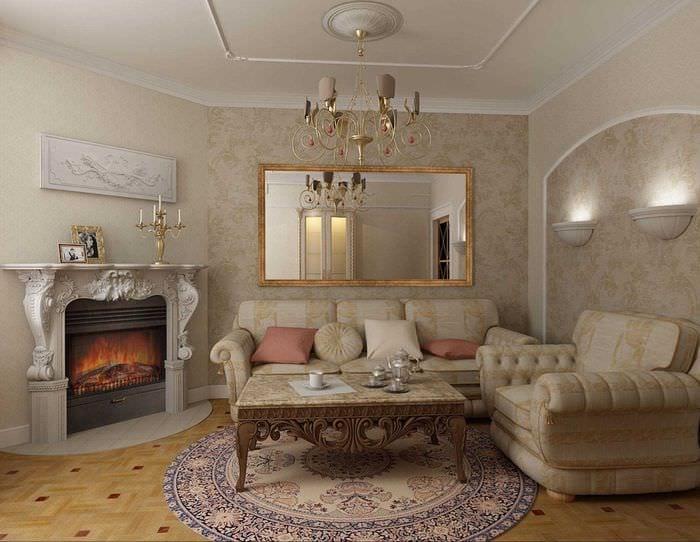 яркое декорирование потолка аксессуарами