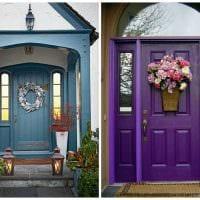 оригинальное оформление дверей своими руками фото