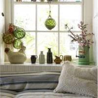 красивое украшение дизайна комнаты в стиле прованс картинка
