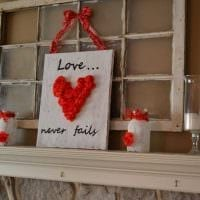 красивое декорирование квартиры подручными материалами на день святого валентина картинка