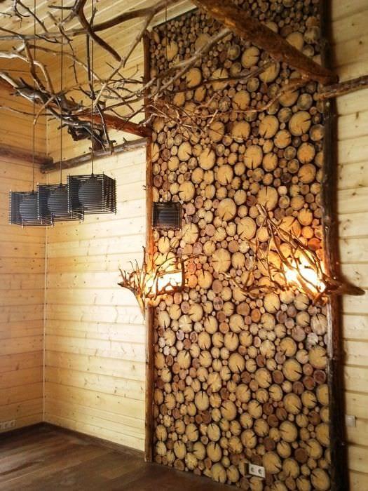 Деревянные стены в интерьере своими руками фото 429
