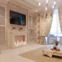 красивый интерьер комнаты в стиле прованс фото
