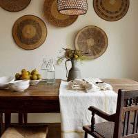 классический декор гостиной в стиле рустик картинка