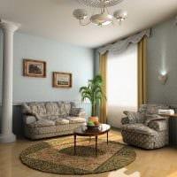 яркий интерьер дома в стиле модерн фото